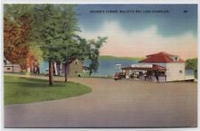 Nourse's Corner Gas Station,Lunch Counter Malletts Bay Champlain,NY