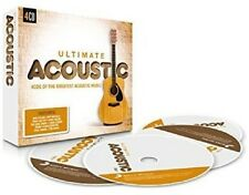 ULTIMATE...ACOUSTIC (TOM ODELL, ONE DIRECTION, TRAIN,...)  4 CD NEU