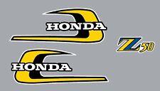 HONDA Z50 1974 Tank  Decals & Sidecover B Logo