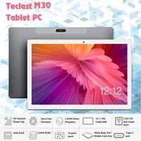10.1''4G-LTE Teclast M30 Tablet PC Android 8.0 4+128GB Dual SIM WIFI GPS Phablet