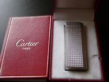Cartier Pentagon Lighter Silver Plated with Box and Papers