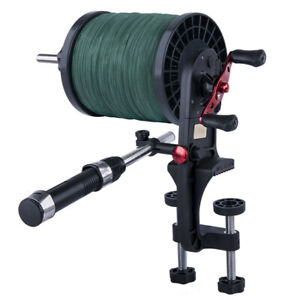Fishing Line Winder Reel Spooler Winding System Adjustable Fishing Accessories