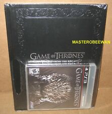 Game Of Thrones Game + Artbook Bundle New Sealed (Sony PlayStation 3, 2012) PS3