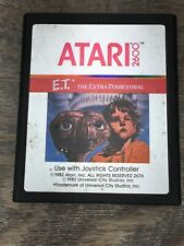 E.T. The Extra Terrestrial (Atari 2600 1982) Game Cartridge Only Cleaned TESTED