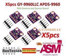 5pcs I2C GY-9960LLC APDS-9960 RGB Gesto and Sensore Board Modulo Breakout