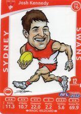 2012 Teamcoach Magic Wild MW-16 Josh Kennedy Sydney Swans