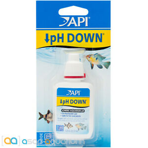 API pH Down 1.25oz Lowers Freshwater Aquarium pH Safe for Plants and Fish