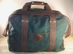 Duluth Pack Green Canvas Duffle Carry On Luggage Hunting Gym Duffel Bag Pack