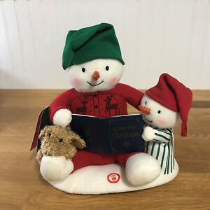 Hallmark 2019 Storytime Snowman Techno Plush Sound & Motion