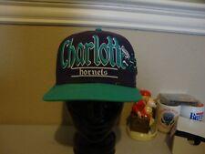 Charlotte Hornets NBA Throwback scripted snapback Cap Hat