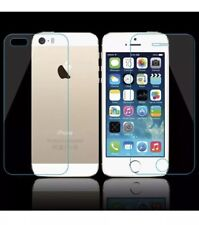 Tempered Glass Screen Protector for Apple iPhone 5S,5c,SE Front and Back