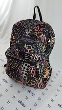 JanSport Back To School Backpack Colourful Animal Print Pattern Student Book Bag