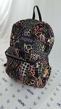 JanSport High Stakes Backpack MultiColor Animal Print Pattern Student Book Bag