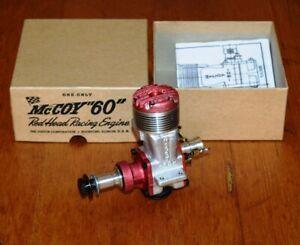 NEW 1958 McCoy 60 Red Head Race model airplane engine .60 vintage 10cc box NIB