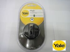 YALE HIGH SECURITY SECURE FLOOR/WALL STEEL ANCHOR 60mm BLACK - NEW