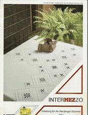 Intermezzo German Hardanger Pattern Leaflet