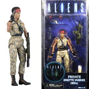 ALIENS Series 12 Private Jenette Vasquez BDUs Action Figure