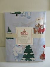 POTTERY BARN KIDS RUDOLPH & BUMBLE RED NOSE RAINDEER DUVET COVER TWIN