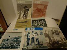 Vintage Lot of United Airlines Employee Magazine The Shield 1971