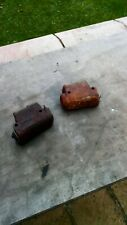 A pair of duel master cylinders for frogeye or MG MIDGET