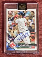 2021 Topps Archives 2018 Bowman RAFAEL DEVERS 1/1 AUTO Rookie Card #25 RC🔥