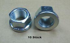 Flachbundmuttern Radmuttern M20 x 1,5 passend zu  Baumaschinen Trecker Unimog