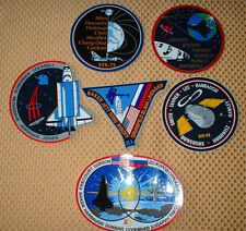 6 NASA Space Shuttle Mission Stickers STS-75 77 80 81 82 & CTC-71  NEW