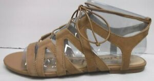 Sam Edelman Size 9 Caramel Suede Sandals New Womens Shoes