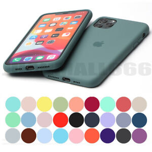 FULL PROTECT ORIGINAL SILICONE CASE FOR IPHONE XS 11 PRO MAX XR 7 8 6 PLUS COVER