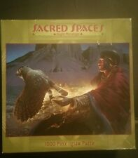 SACRED SPACES NIGHT MESSENGER, 100 PIECE JIGSAW PUZZLE. BRAND-NEW. CEACO BRAND