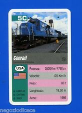 [GCG] SUPERCARTINE - SCHMID - Figurina-Sticker n. 5C - CONRAIL