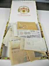 WW, EUROPE, Excellent assortment of Stamps in glassines(cigar box NOT