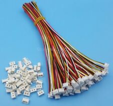4 Pin Single Head SH Pitch 1.25mm 15cm 28AWG Micro Wire To Board Connector