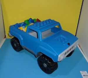 Lego duplo 5363 Mountain Climber Quatro large Child Size Truck w/ Sound & Bricks