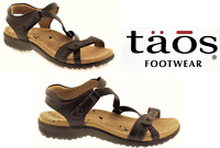 Comfort Walking Sandals leather. Taos Shoes Dream Weaver