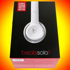 NEW☸2015☸SOLO2☸Beats by Dr. Dre☸SOLO 2.0☸w/Mic+Remote☸Headphones☸On-Ear☸White