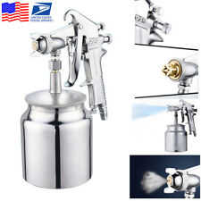 New 600Ml F75 Home Car Auto Hvlp Air Paint Spray Fed Lacquer Spray Tool From Usa (Fits: More than one vehicle)