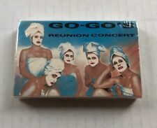 GO GO's Reunion Concert 1990 US PROMO Only CASSETTE Belinda Intro PUNK SEALED