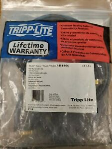Tripp Lite Null Modem Serial RS232 Cable DB9 Male X Female 6-ft. P454-006   #P27
