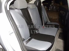 i - TO FIT AN ALFA ROMEO 156 CAR, S/ COVERS, ARTIFICIAL LEATHER, BLACK 59.99