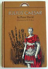 """JULIUS CAESAR"" by Peter David, HC First Printing 1968, World in the Making, VG+"
