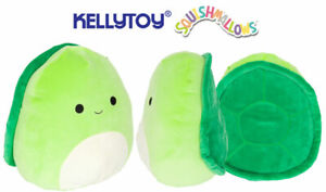 "SQUSHMALLOWS 7"" HENRY THE TURTLE SUPER SOFT TOY BRAND NEW WITH TAGS KELLTOY"