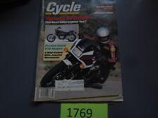 Cycle Magazine Honda VF500F interceptor V30 Magna July 1984  fxrdg v65 sabre