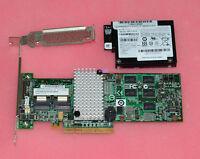 IBM M5015 LSI 2108 Controller RAID 5 512MB 6G PCI-e + BBU08capacitance