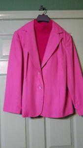 Blazer w/shell Dressbarn Woman 14W, long sleeves, fully lined