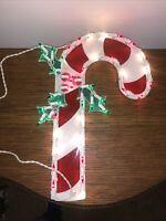 Vintage LIGHT UP Candycane OUTDOOR Or Indoor Christmas Decoration