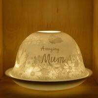 Nordic Lights Candle Shade & Tray Amazing Mum Tea Light Holder Decor Gift