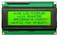 DISPLAY 4X20 HD44780 COMPATIBILE ARDUINO RETROLLUM. GIALLO/VERDE
