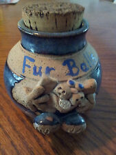 Art Pottery Fur Ball Container,
