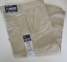 FRENCH TOAST BOY Uniform Pants Slacks BLACK Khaki NAVY SZ 4 - 20 Double KNEE